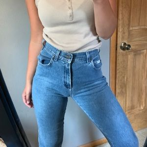 Lee Jeans - Vintage Lee Mom Style High Rise Jeans
